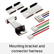Mounting bracket and connector harness