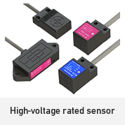 High-voltage rated sensor
