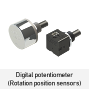 Digital potentiometer(Rotation position sensors)