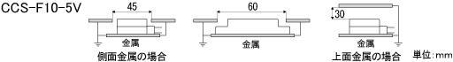 CCS-F10-5V_周囲金属の影響.jpg